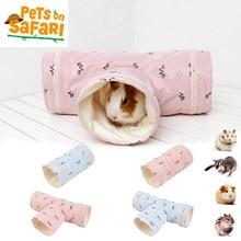 Cute Hammster Toy Rabbit Soft Nest Small Pet Tunnel