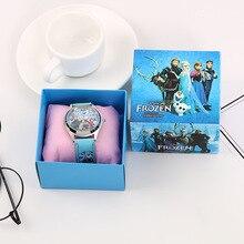 Frozen 2 Kids Watches Quartz Watch Disney Movies Figure Random 1pcs Fashion Cartoon Digital Watch Toys for Gifts for Girls
