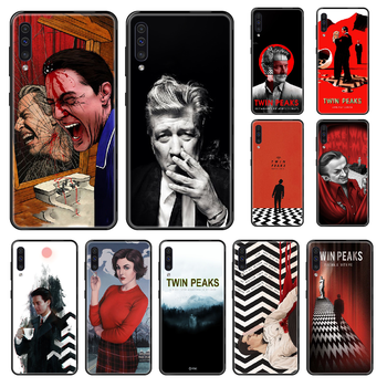 Tv Twin Peaks Phone case For Samsung Galaxy A 3 5 8 9 10 20 30 40 50 70 E S Plus 2016 2017 2018 2019 black luxury back trend image