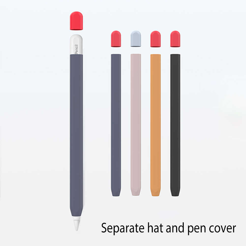 Bảo Vệ An Toàn Dành Cho Apple Pencil 1 2 Chống Mất Chống Sốc Slilicone Tay Dành Cho Ipad Máy Tính Bảng cảm Ứng Bút Chì 2 1 Bộ Dụng Cụ