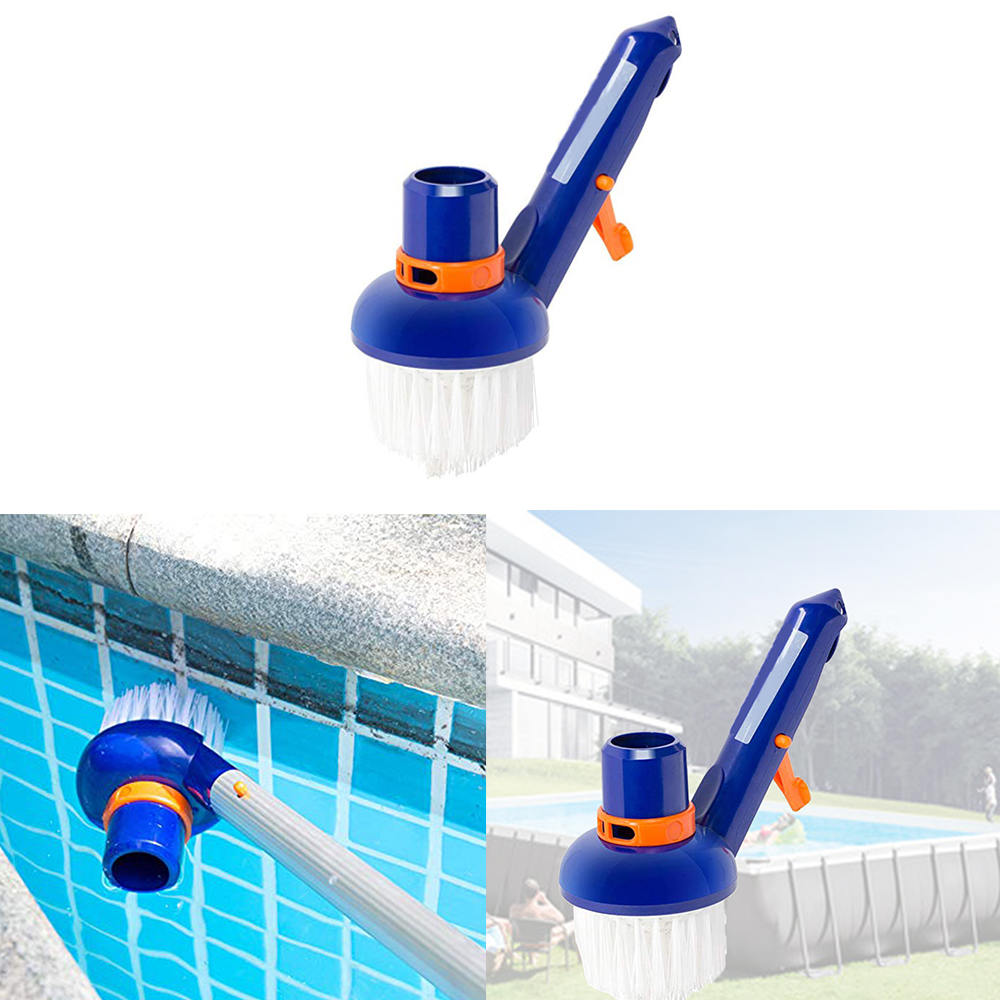 1pcs Swimming Pool Step Corner Vacuum Brush Spas Hot Tubs Cleaning Brushes Nylon Bristles Cleaning Brush Tools