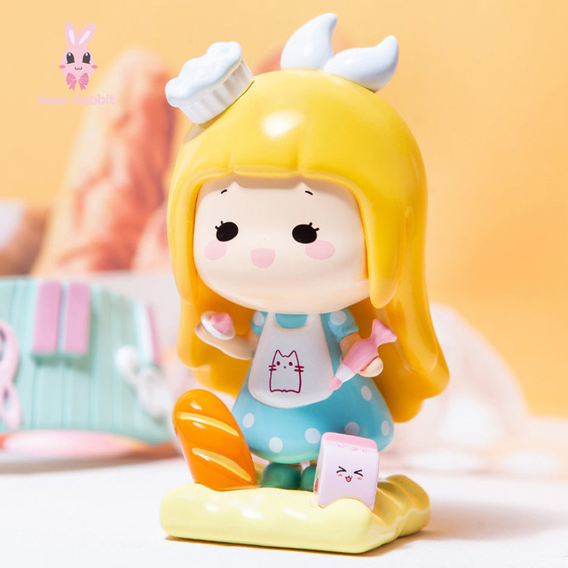 Blind Box Toys Elissy Career Blind Box Guess Bag Caja Ciega Blind Bag Toys Anime Figures Cute Model Girl Birthday Gift Ornaments 2