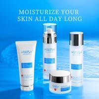 WIS Face Care Moisturizing Skin Care Set Oil Control Cleanser+Toner+Cream+Lotion 3