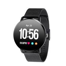 V11 Smart Watch Tempered glass Activity Fitness tracker sport smartwatch IP67 Waterproof Heart rate monitor Men Women(China)