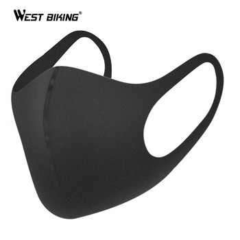 WEST BIKING Anti-Dust Cycling Mask Men Women Outdoor Sport Face Mask Bike Bicycle Riding Running Washable Breathable Mask