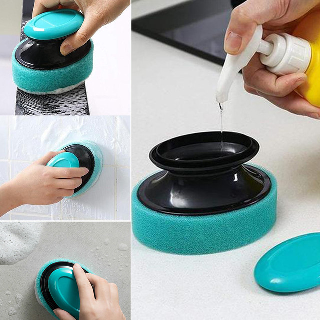 Refill Foaming Brush Cleaning Brush Which Can Decompose And Remove Dirt kitchen appliances best selling 2019 products home D 1