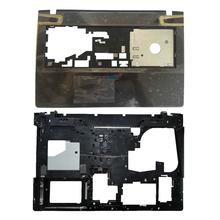 غطاء حماية علوي جديد لجهاز Lenovo Ideapad Y500 Y510 Y510P Palmrest لا توجد لوحة لمس AP0RR00050/غطاء قاعدة سفلي للكمبيوتر المحمول AP0RR00070