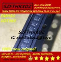 Szfthrxdz 100% 新オリジナル (50 個 100 個) EMH53 H53 SOT563