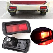 Car Rear Tail Brake Lights Fog Lamp Rear Bumper Reflector Light For Mitsubishi Pajero Shogun Sport For Challenger 2000-2008