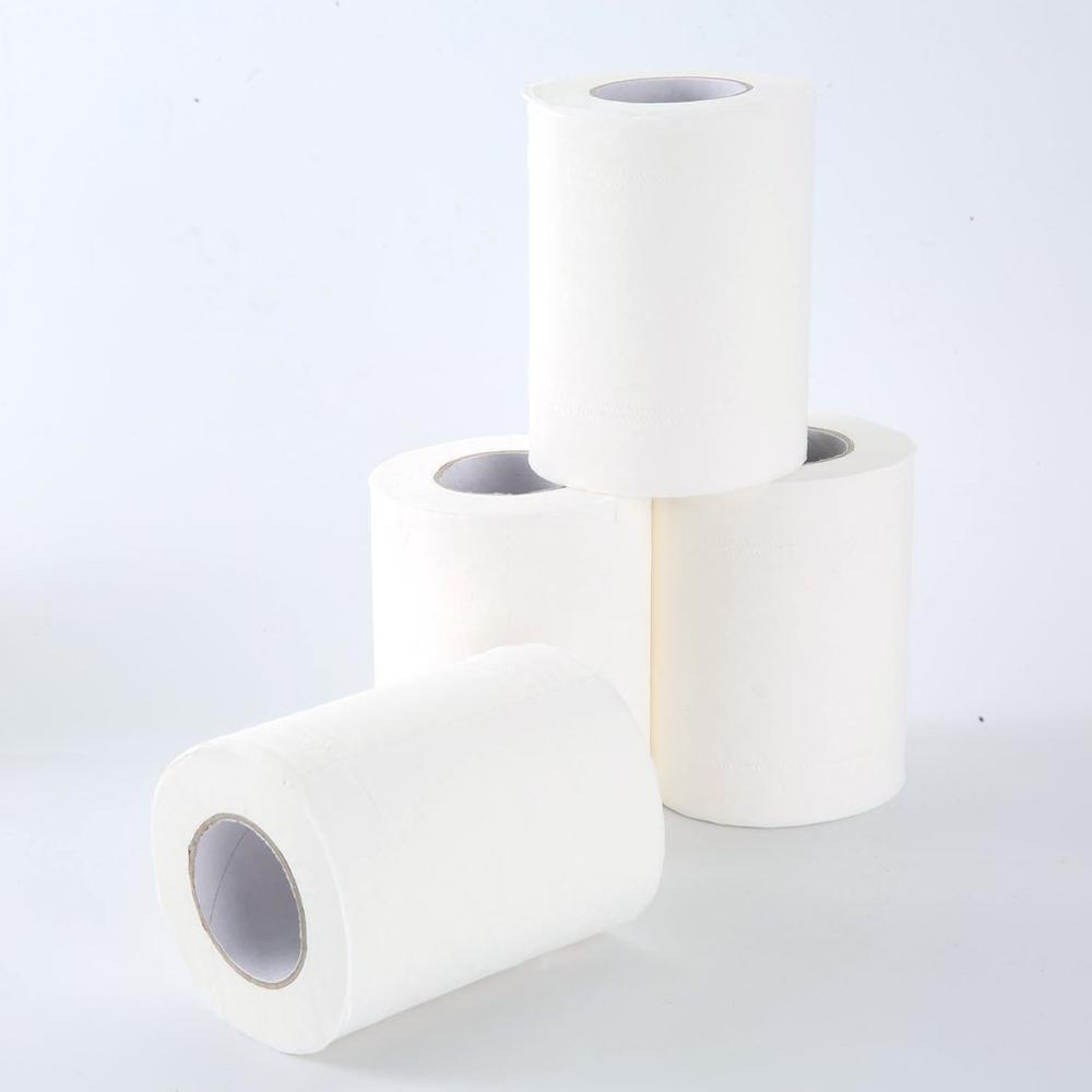 2020 Sell Well 4 Rolls Natural Paper Towels Portable High Quality Toilet Paper For Office For Family Restaurant Paper Towel New