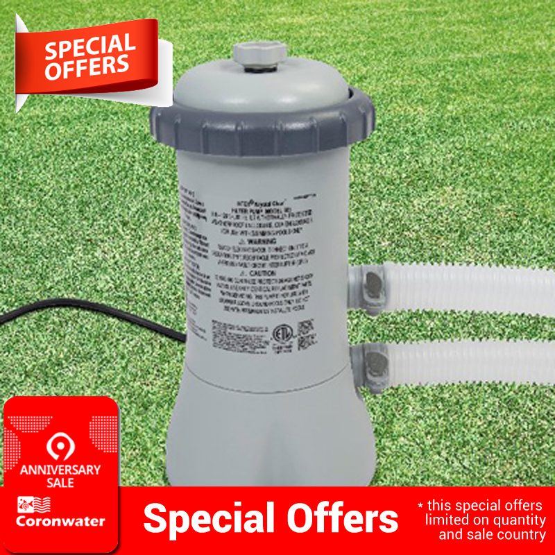Pool Pump Filter 58604  Swimming Pool Water Cleaning Device