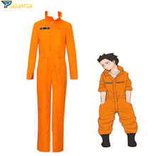 Anime Enn Enn no Shouboutai Shinra Kusakabe Team Uniform Fire Force Jumpsuit Cosplay Costume enn vetemaa eesti näkiliste välimääraja page 9
