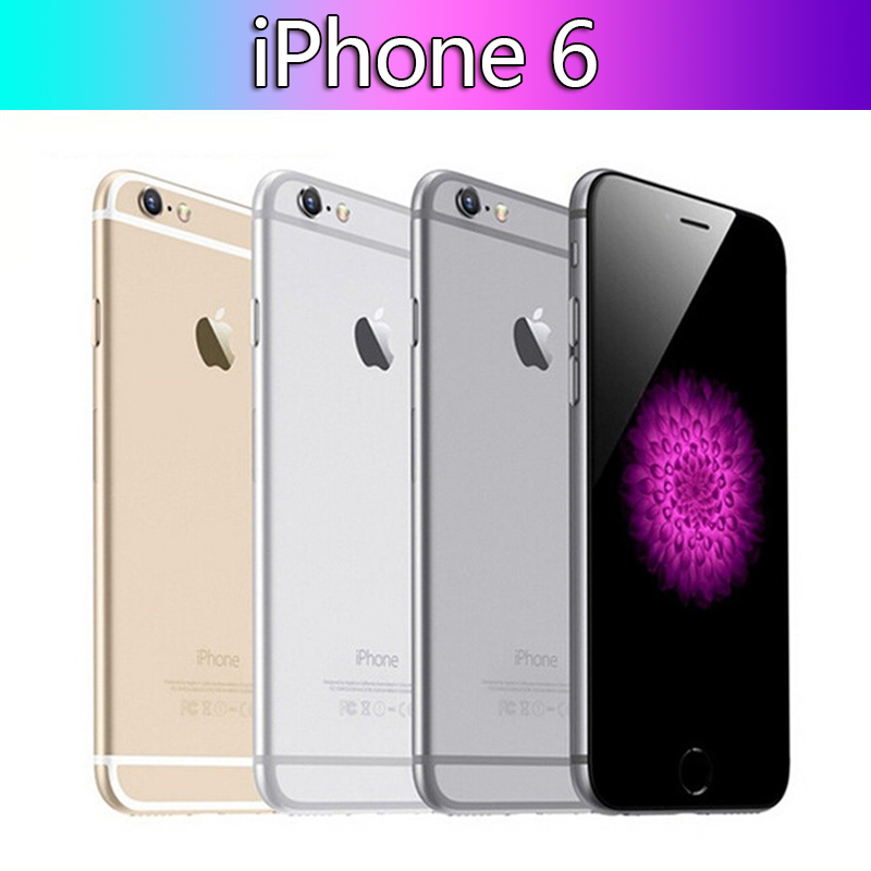 Apple iPhone 6 Original 6-1gb-Ram 16GB WCDMA/LTE/GSM Nfc Bluetooth 5.0 Dual Core Fingerprint Recognition