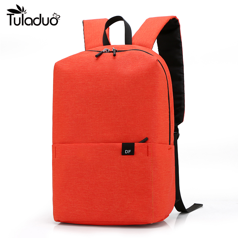 Anti-Theft USB Backpack 12 <font><b>Inch</b></font> <font><b>Laptop</b></font> Simple Women Backpacks High Quality Female Men's <font><b>Bag</b></font> Female Male Travel Large Capacity image
