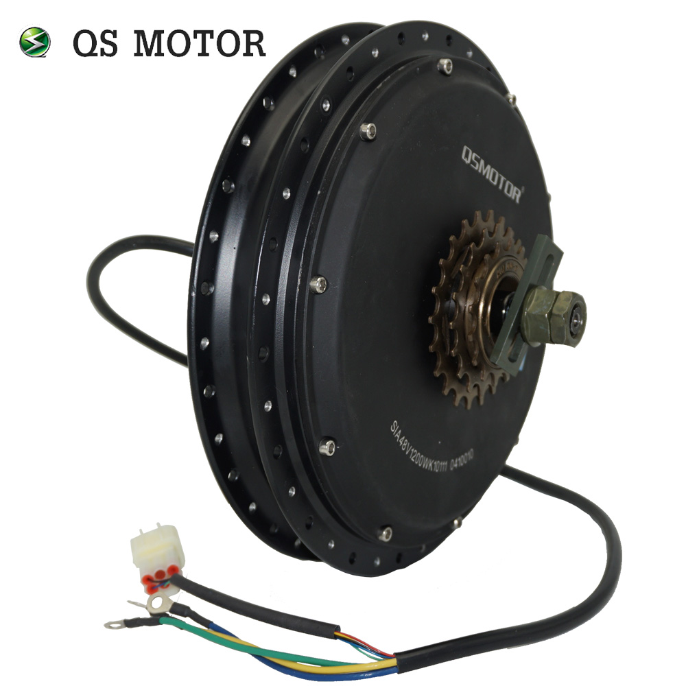 QS Motor 1200W 212 35H V1.12 Electric Bike Spoke Hub Motor/bicycle Spoke Motor/Low Power Electric Bike