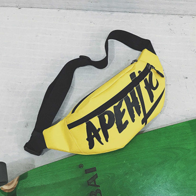 AELFRIC Fashion Letters Vrouwen Riem Tas Hip-Hop Taille Tas Harajuku 2019 Fanny Pack Vrouwen Mannen Borst Bum Hengreda Reizen Winkelen