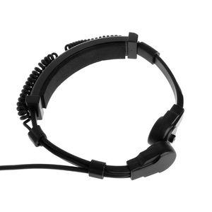 Image 2 - Finger PTT Throat MIC Acoustic Tube Earpiece Headset For SEPURA Radio STP8000/8030/8040/8080
