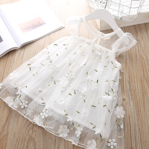 Newborn Dresses for Girl Summer Christening Party Wedding White Dress Baby Girls Lace Vestido Infantil 1 2 Year Princess Clothes(China)