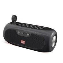 Outdoor Speaker Music-Box HIFI Portable Wireless Bluetooth Solar-Charging Stereo Handfree-Call
