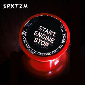 Image 1 - Kristall Auto Motor Start Stop Schalter Taste Aufkleber Für Jaguar XE XF F Tempo Fpace XFL XEL Zubehör