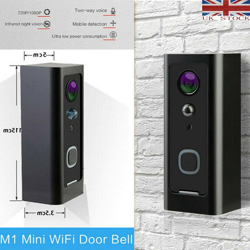 2020 Wifi Smart Visual Intercom IR-CUT HD Camera IP Doorphone Night View Video Doorbell Ring Video Door Phone Doorbell Kits