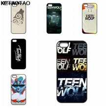 KETAOTAO TEEN WOLF logo Phone Cases for iPhone 4S SE 5 6 5C 5S 6S 7 8 Plus XR XS Max Case Soft TPU Rubber Silicone(China)