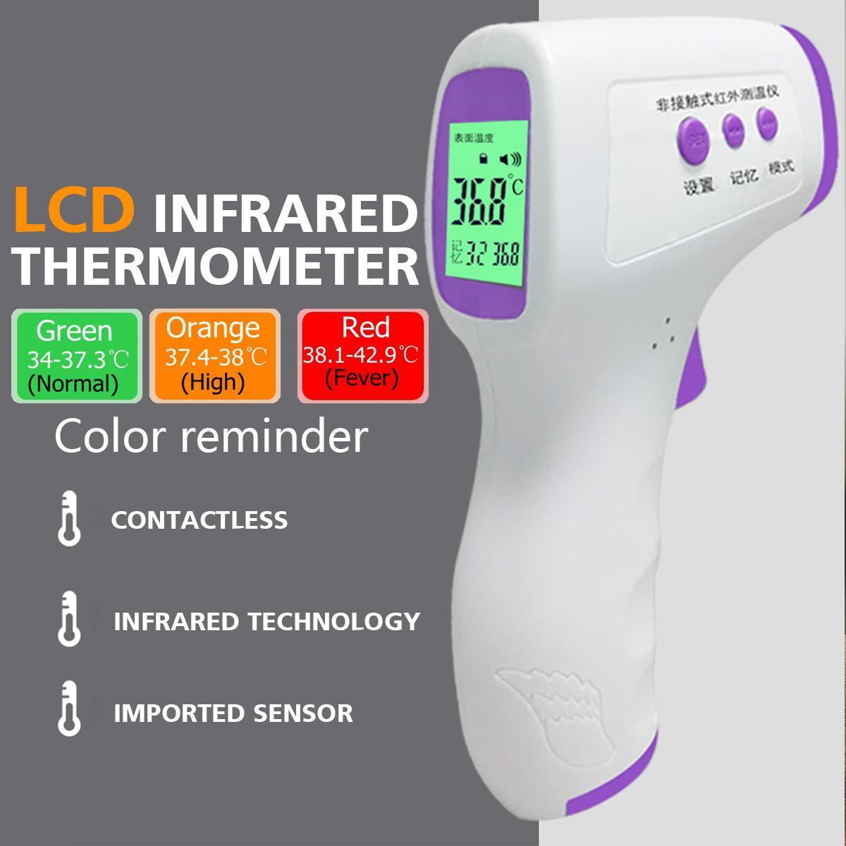 1007.97руб. 30% СКИДКА|Термометр Мути фуция для малышей/взрослых Цифровой термометр инфракрасный Лоб тела бесконтактный прибор для измерения температуры|Термометры| |  - AliExpress