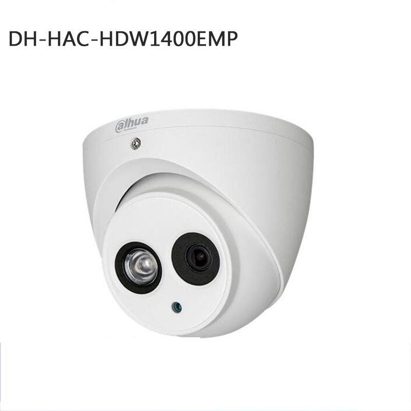 dahua 4mp dome HDCVI camera Max IR length 50m Smart IR metal body DH HAC HDW1400EMp