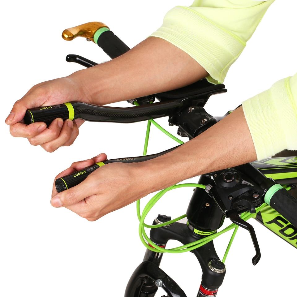 Lixada Carbon Fiber Road Bike Bicycle Aero Bar Rest Handlebar Aerobar A4R9