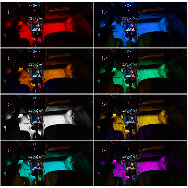 RGB LED Strip Lights Music Reactive 6