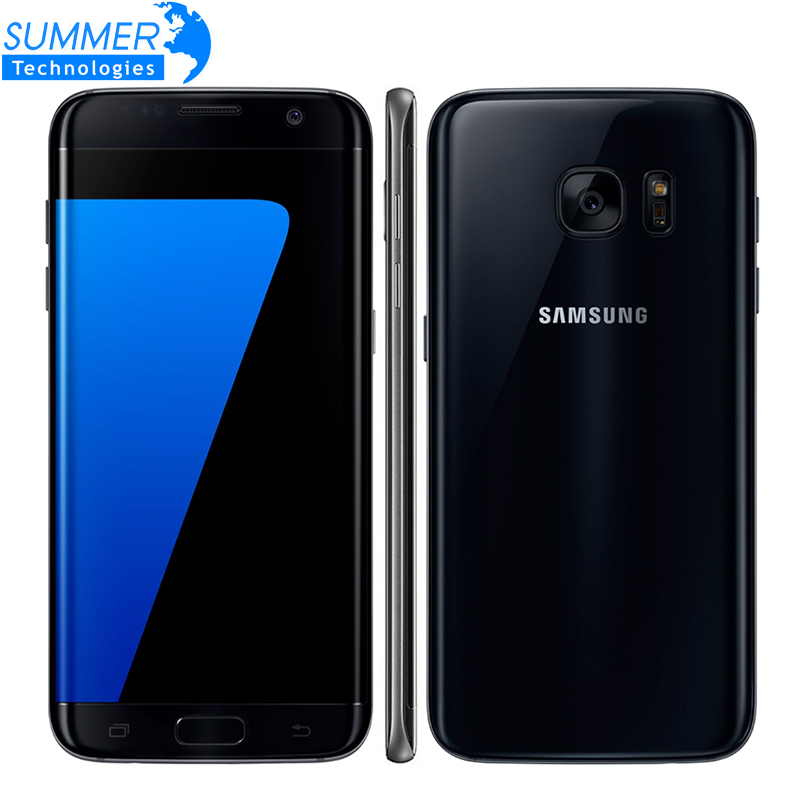Unlocked Samsung Galaxy S7 Edge Android Mobile Phone 4G LTE 5.5 12MP 4GB RAM 32GB/64GB ROM NFC GPS Cell Phone image