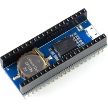 Waveshare Precision RTC Module for Raspberry Pi Pico, Onboard DS3231 Chip