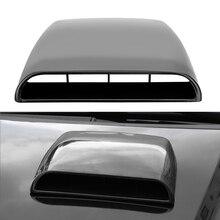 Hava akışı emme firar kapağı hava çıkış kapağı dekorasyon evrensel araba Hood Scoop araba Styling