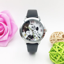 Children Watches For Boys Waterproof Watches Cute Mouse Pattern Kid Girl Quartz Watch Student Luminous Wristwatch Leather Clock brand children luminous watch kid quartz watches girl boy student casual clock colorful butterfly sports waterproof wristwatch