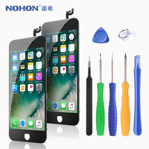 Image 1 - NOHON LCD Display For iPhone X 7 6 6S 8 Plus pantalla Screen Display 3D Touch Digitizer Assembly Replacement Phone LCDs AAAA++