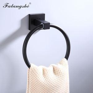 Image 2 - Aluminum Bathroom Accessories Black Towel Rack Towel Ring Hair Dryer Holder Wall Mounted Toilet Paper Holder Soap Basket WB8813