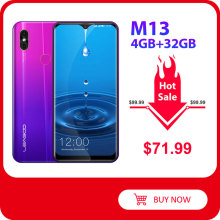 LEAGOO M13 Android 9.0 Smartphone 6.1'' HD IPS Waterdrop Display 4GB RAM 32GB ROM MT6761 3000mAh Dua