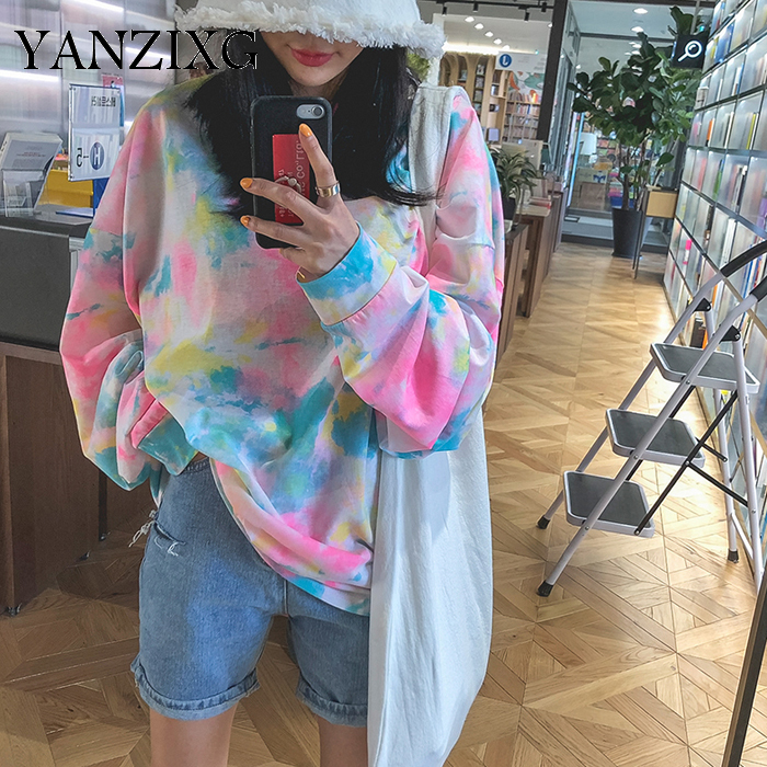Fashion Women T Shirts Wild Cotton Casual Ladies T Shirts Autumn New 2019 Long Sleeve Women Clothing Korean Style S086