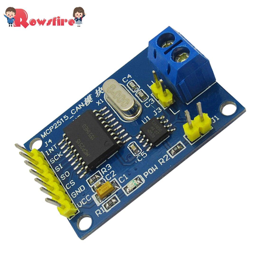 MCP2515 TJA1050 Receiver SPI Protocol MCU-51 Routines CAN Bus Module