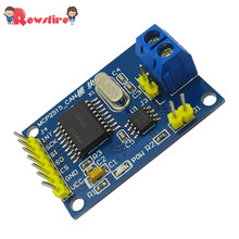 MCP2515 TJA1050 Receiver SPI Protocol MCU-51 Routines CAN Bus Module(China)