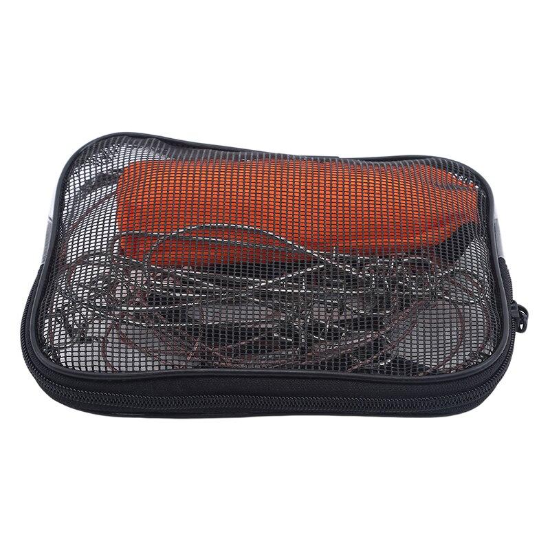Quente de alta qualidade cordas de pesca 5m fivela bloqueio pesca aço inoxidável ao vivo cinto float peixe stringer pesca acessórios