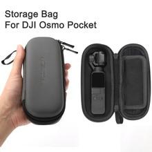 Osmo Pocket Storage Bag custodia portatile PU impermeabile ammortizzatore sacchetto filtro pezzi di ricambio scatola per DJI Osmo Pocket Camera