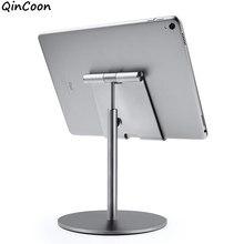 Büyük boy ve yüksekliği ayarlanabilir alüminyum Tablet standı 360 ° rotasyon masası Tablet tutucu iPad Tab Kindle Nintendo anahtarı (4-13
