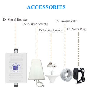 Image 5 - Lintratek 3g 4g signal booster dual band umts 3g 2100mhz dcs 4g lte 1800mhz 70dB high gain mobile phone signal repeater ALC AGC*