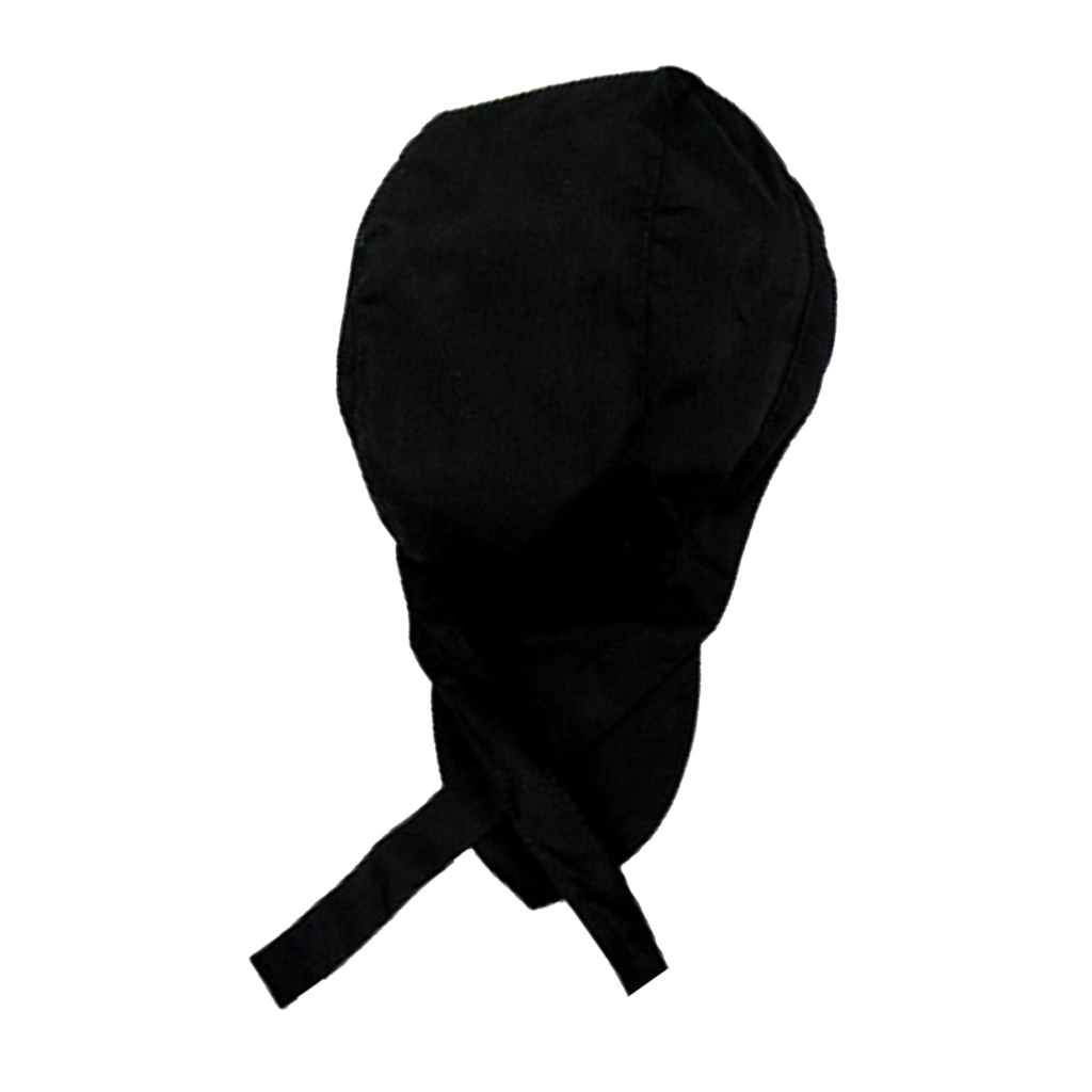Fashion Chefs Hat Cap Kitchen Catering Skull Cap Ribbon Cap Turban #2