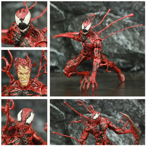 "Marvel Select Carnage 7"" Action Figure Cletus Kasady Red Symbiote Venom The Amazing Spider Man Villain Original DST MS Toys Doll(China)"