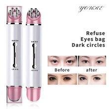 Massaggiatore per occhi EMS massaggio per occhi antirughe massaggiatore ricaricabile USB Anti invecchiamento per dispositivo di bellezza per la frequenza del viso