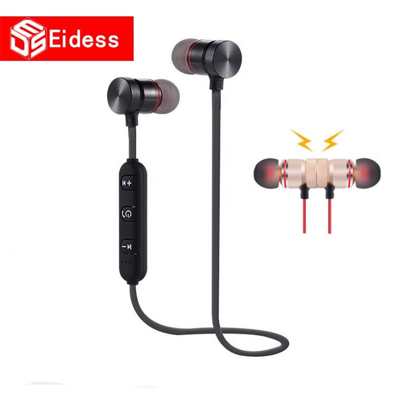 Nouvve Bluetooth Earphone Sports Wireless Headphone SweatProof Bluetooth Headset Bass Earbuds With Mic For Phone IPhone Xiaomi