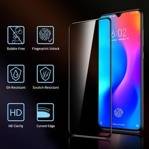 Image 5 - Protezione Dello Schermo per Xiaomi Mi ESR 8 9 Pro SE CC9e 3D Copertura Completa Proteggere Anti Blu ray Temperato vetro per la Nota Redmi 7 8 K20 Pro