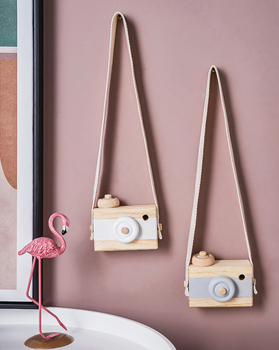 Hanging Wooden Camera for Kids Room Departments Home Accessories Kids Decor Kids Room Rooms